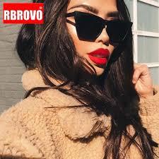 RBROVO 2021 Plastic <b>Vintage Luxury Sunglasses</b> Women Candy ...