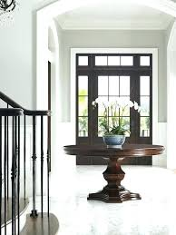 contemporary entry hall tables round entry table round foyer entry tables for wonderful round hall table