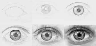 How To Draw Eyes Step By Step How To Draw Eye Step By Step Realistic Hyper Art Pencil