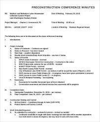 Meeting Summary Sample 13 Meeting Minutes Templates Word Excel Pdf Templates