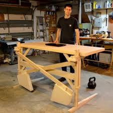 Diy adjustable standing desk Build Scott Rumschlags Diy Motorfree Heightadjustable Standing Desk Core77 Core77 Scott Rumschlags Diy Motorfree Heightadjustable Standing Desk