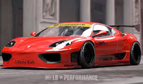 Liberty Walk Releases Body Kit For Ferrari 360 And F430