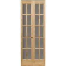AWC Traditional Divided Light Glass  X  Bifold Door - Bifold exterior glass doors