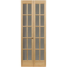 awc traditional divided light glass 32 x 80 5 bifold door com