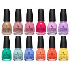 China Glaze Chic Physique 2018 Collection Complete 12 Piece Set