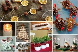 Small Picture Homemade Eco Friendly Christmas Decorations That Look Stunning
