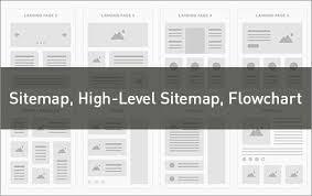 Web制作の参考になるサイトマップやハイレベルサイトマップ