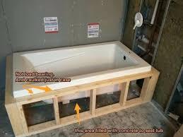 bathroom tub ideas amazing tile bathroom tub best drop in bathtub ideas on drop in with