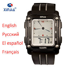 popular mens talking watches buy cheap mens talking watches lots mens talking watches