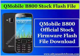 QMobile B800 Firmware Flash File ...