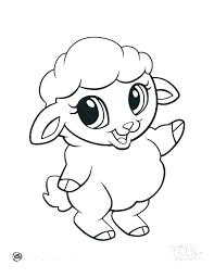 Anime Animal Coloring Pages Printable Farm Animals Coloring Pages