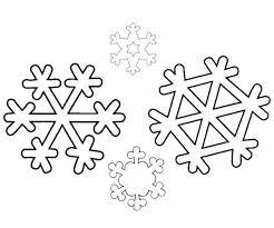 Snowflake Coloring Pages Printable Printable Snowflake Coloring
