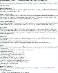 Middle School Teacher Resume Template Best of Elementary School Teacher Resume Sample Preschool Teacher Resume