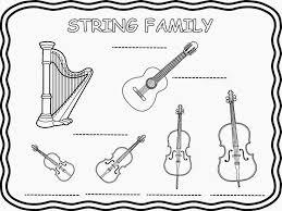 Instrument Family Worksheets - Checks Worksheet