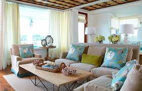 Relaxing Living Room Beach Escape Living Room Tracery Interiors