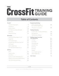 Crossfit Level 1 Guide