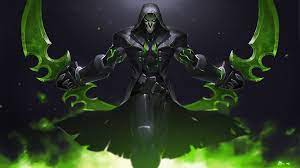Desktop wallpaper green, reaper ...