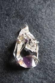 pendant herkimer diamond