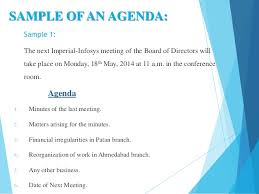 How To Write An Agenda Of A Meeting Effective Agenda Writing