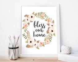 bless our home sign bless this home sign bless this home printable home wall art house on bless our home wall art with bless our home sign bless this home sign bless this home printable
