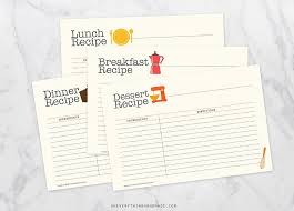 Recipe Card Photos, Graphics, Fonts, Themes, Templates ~ Creative Market