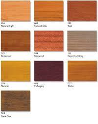 Cetol Srd Color Chips In 2019 Exterior Stain Cedar Deck