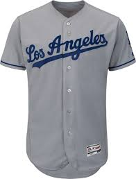 Dodgers Jersey On Field Dodgers On