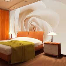 Orange Bedroom Wallpaper Popular Rose Wallpaper Buy Cheap Rose Wallpaper Lots From China