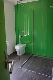 back painted glass diy bathroom contemporary with inwall system wood floors small bathroom