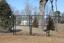 chain link fence double gate. Black Chain Link Double Gates Chain Link Fence Double Gate