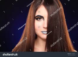 winter beauty woman makeup holiday make up snow queen high