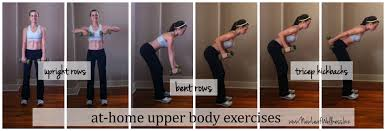 upper body exercises names page 1