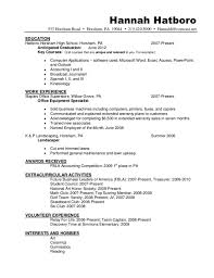 Stunning Resume Expected Graduation Date Photos - Simple resume .