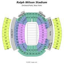 Ralph Wilson Stadium Seating Chart View Buffalo Bills Nfl Football Tickets For Sale Nfl Information