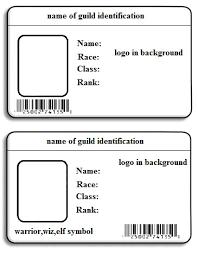 Printable Identification Card Printable Id Cards Rome Fontanacountryinn Com