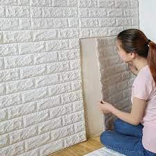 8mm 3D Wallpaper Brick 70x77cm