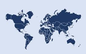 Powerpoint World Free World Map For Powerpoint With An Editable Map Of The