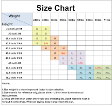 Eight Sixty Size Chart Dive Sail Kids 2 5mm Warm Wetsuit One Piece Uv Protection Shorty Suit