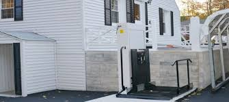 28in Home Wheelchair Lifts Outdoor Residential Wheelchair Lift