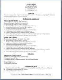 Resume Samples Resume Examples Free Cute Great Resume Examples