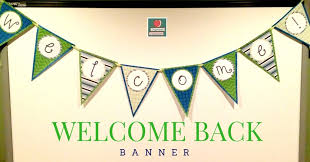 Diy Welcome Banner Organized Classroom