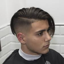 Mens Comb Over Hairstyle Comb Over With Shaved Sides Comb Over Hairstyle For Fashion