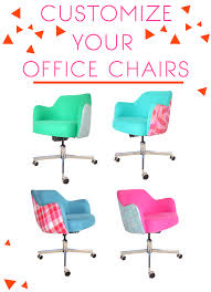 colored desk chairs. DIY Furniture Colored Desk Chairs Pinterest
