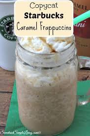 starbucks caramel frappuccino recipe. Modren Caramel Copycat Starbucks Caramel Frappuccino For Starbucks Caramel Frappuccino Recipe T