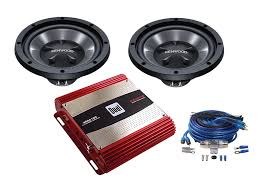 amp sub packages car audio package deals car audio video kenwood dual bass package w wiring kit