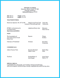 Cool Outstanding Acting Resume Sample To Get Job Soon Resume