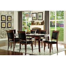 Kitchen Table Sets Under 300 Homelegance Catalina 7 Piece Dining Set Wayfairca