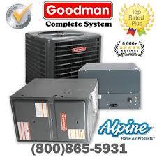 goodman 1 5 ton split system. goodman 1.5 ton 14.5 seer ac 40,000 btu 96% gas furnace horiz. split system 1 5 o