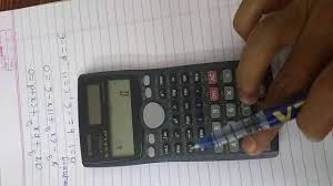 how to solve cubic equation by using casio fx 991ms calculator you