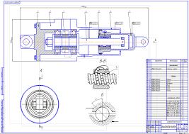 Курсовая работа по технологии машиностроения курсовое  Чертежи Шарико винтовая передача